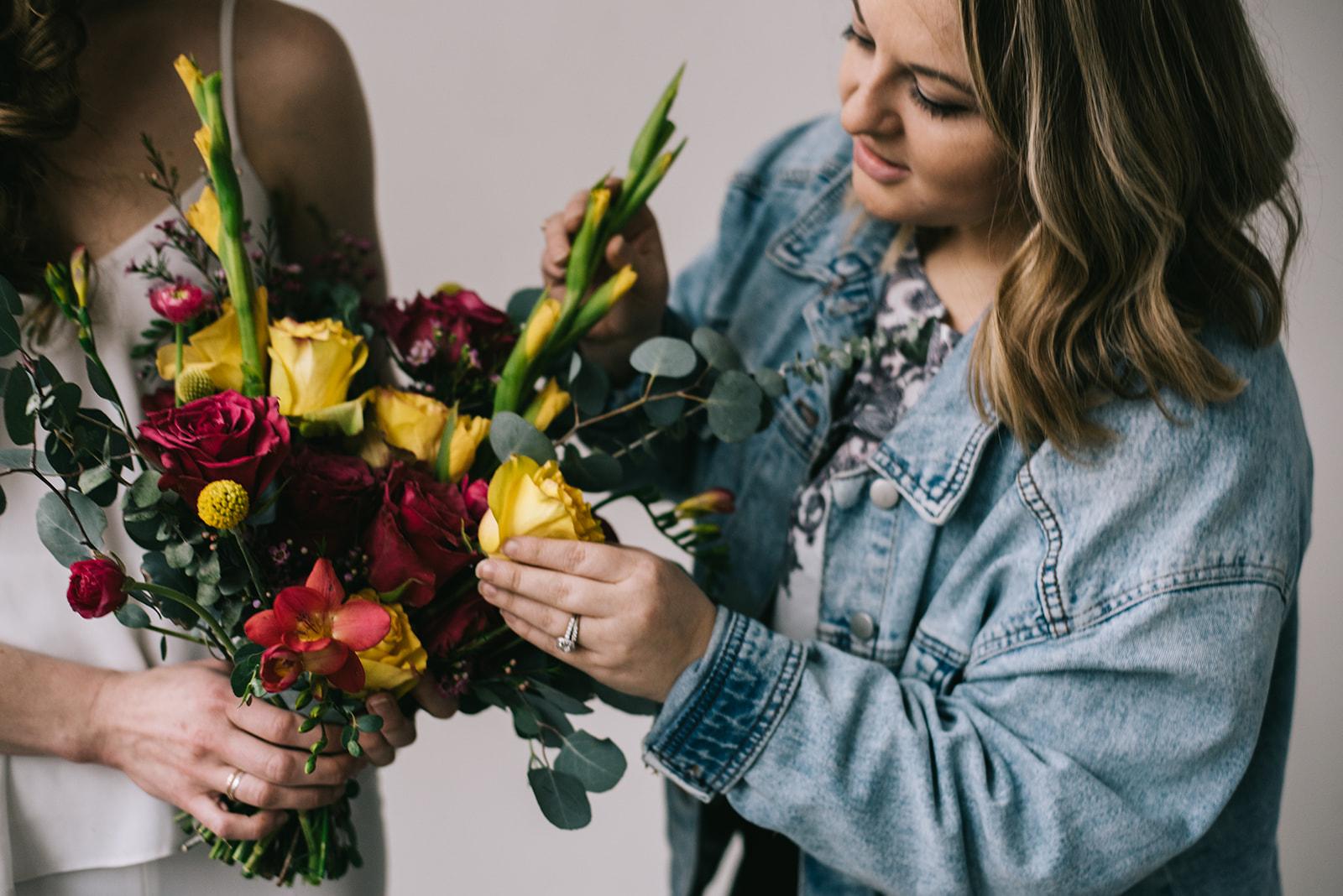 Workshop floral design