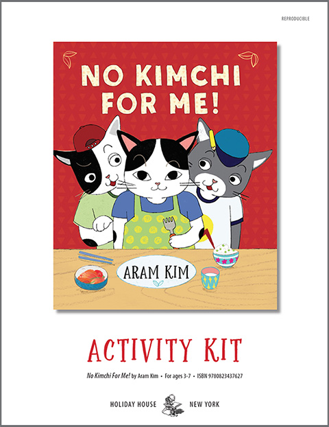 Download activity kit for NO KIMCHI FOR ME!