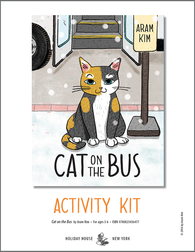 Download CAT ON THE BUS activity sheets!