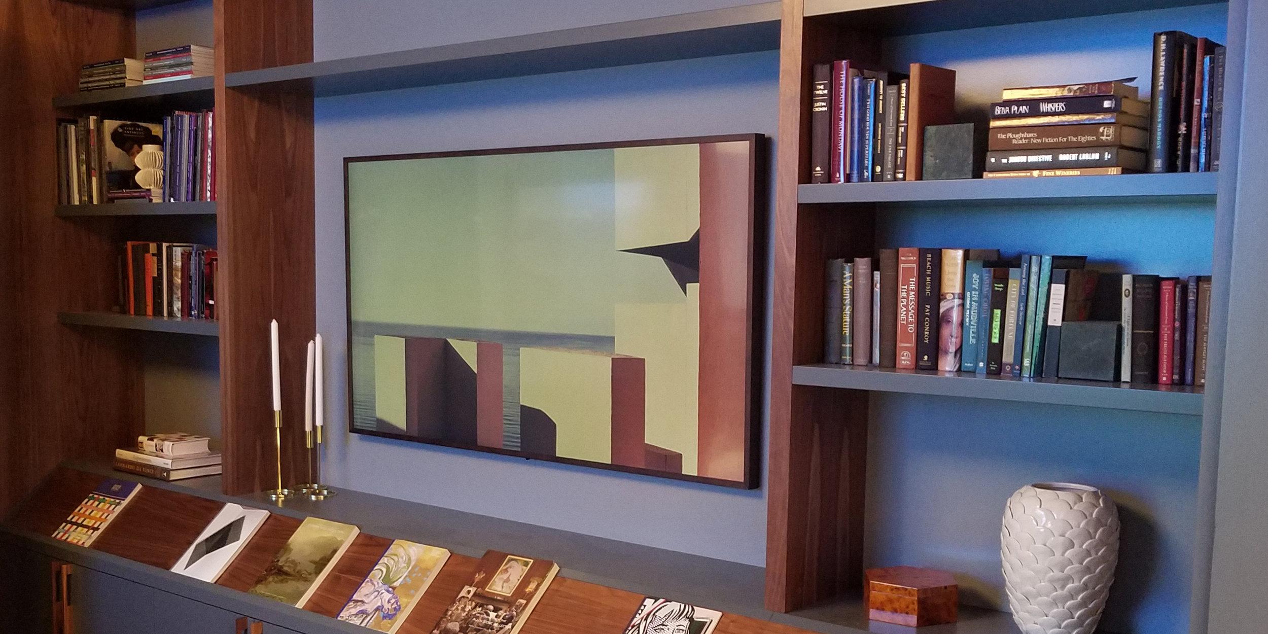 Frame TV Installation