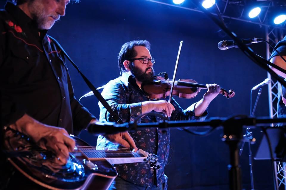 Joe McAnulty: fiddle, baritone vocals 1st place winner 2015 Deer Creek Fiddler's Convention bluegrass fiddle contest, Westminster, MD