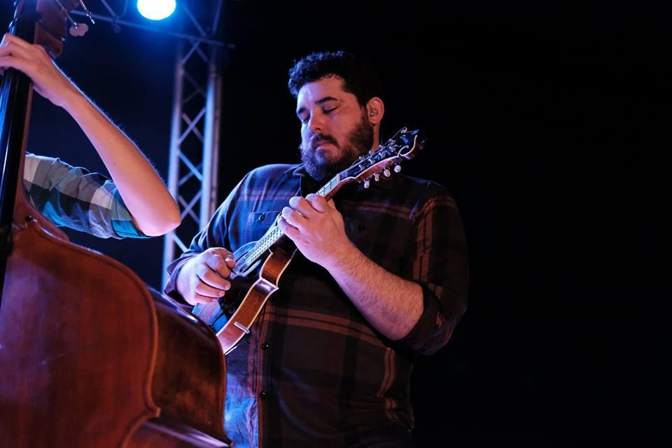 Wade Yankey: mandolin 1st place winner 2014 Watermelon Park Bluegrass Festival mandolin contest, Berryville, VA