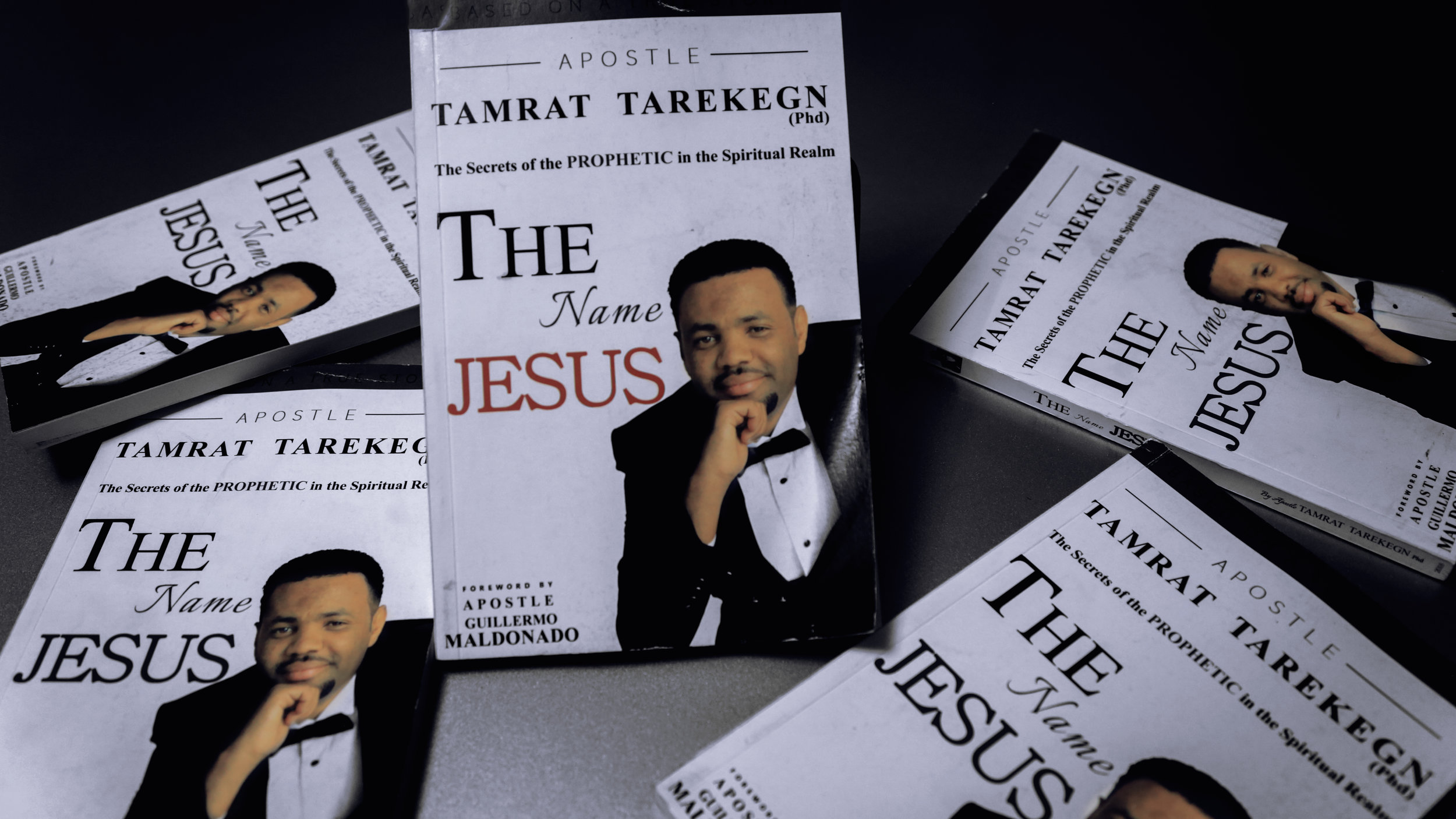 STORE - Browse and purchase Apostle Tamrat's published work