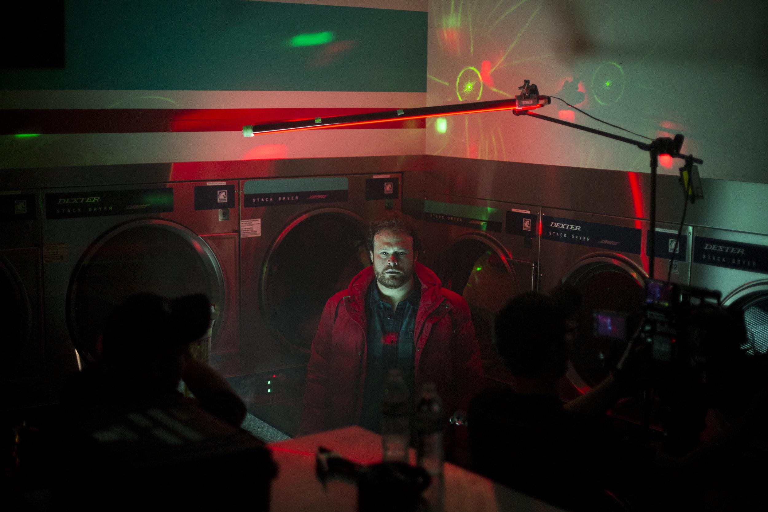 behind the scenes -