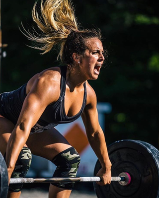 Kelly Baker CrossFit Regional and Team Games Athlete