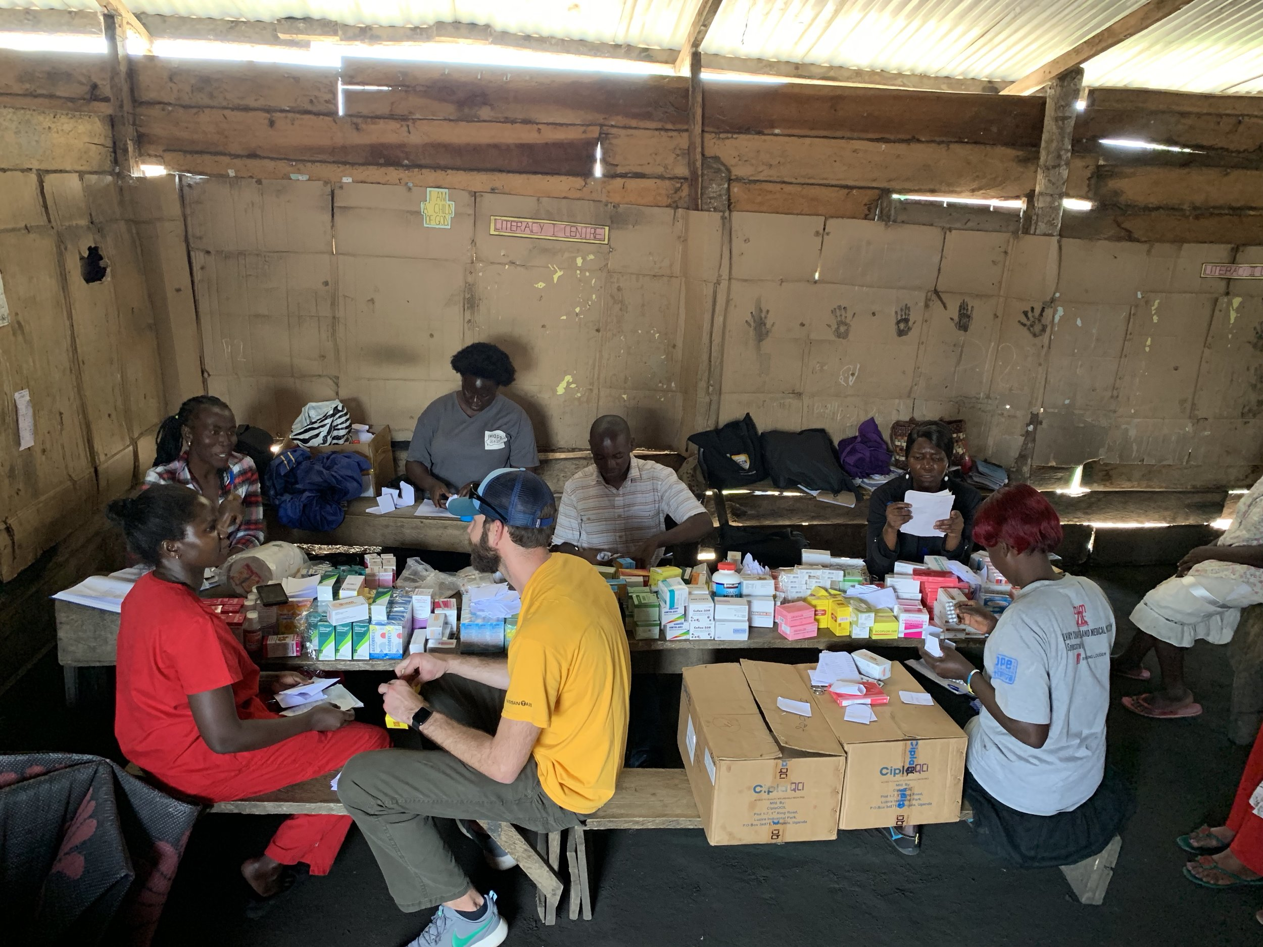 DONATE - Medicinal Crate Campaign – $10,000 by September 1st to purchase medicinal supplies to provide efficient & up to date medicine for up 50,000 people in the central Entebbe Region of Uganda. *We are partnering with Make It Rain for the logistical operations for this vision.