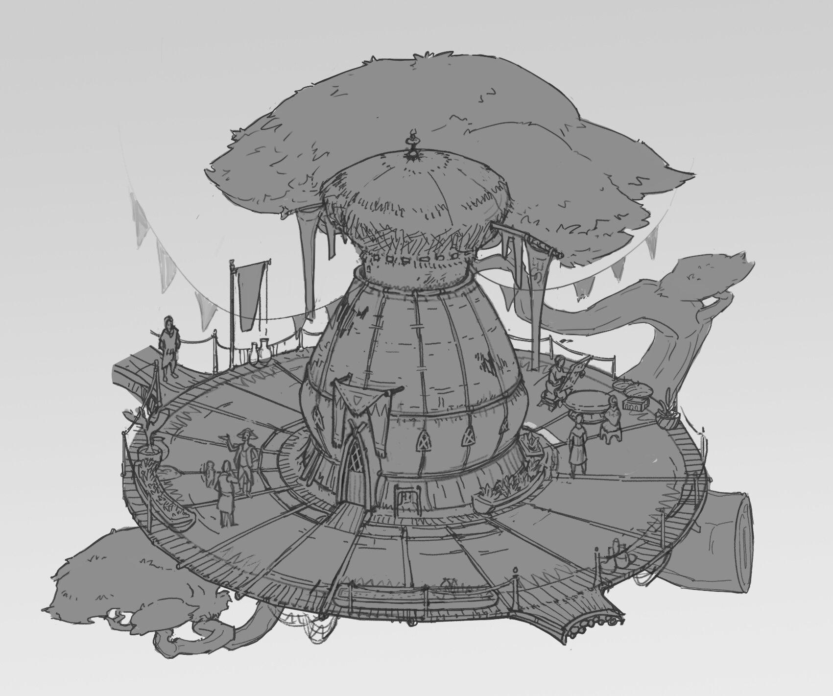 Initial Base Drawing