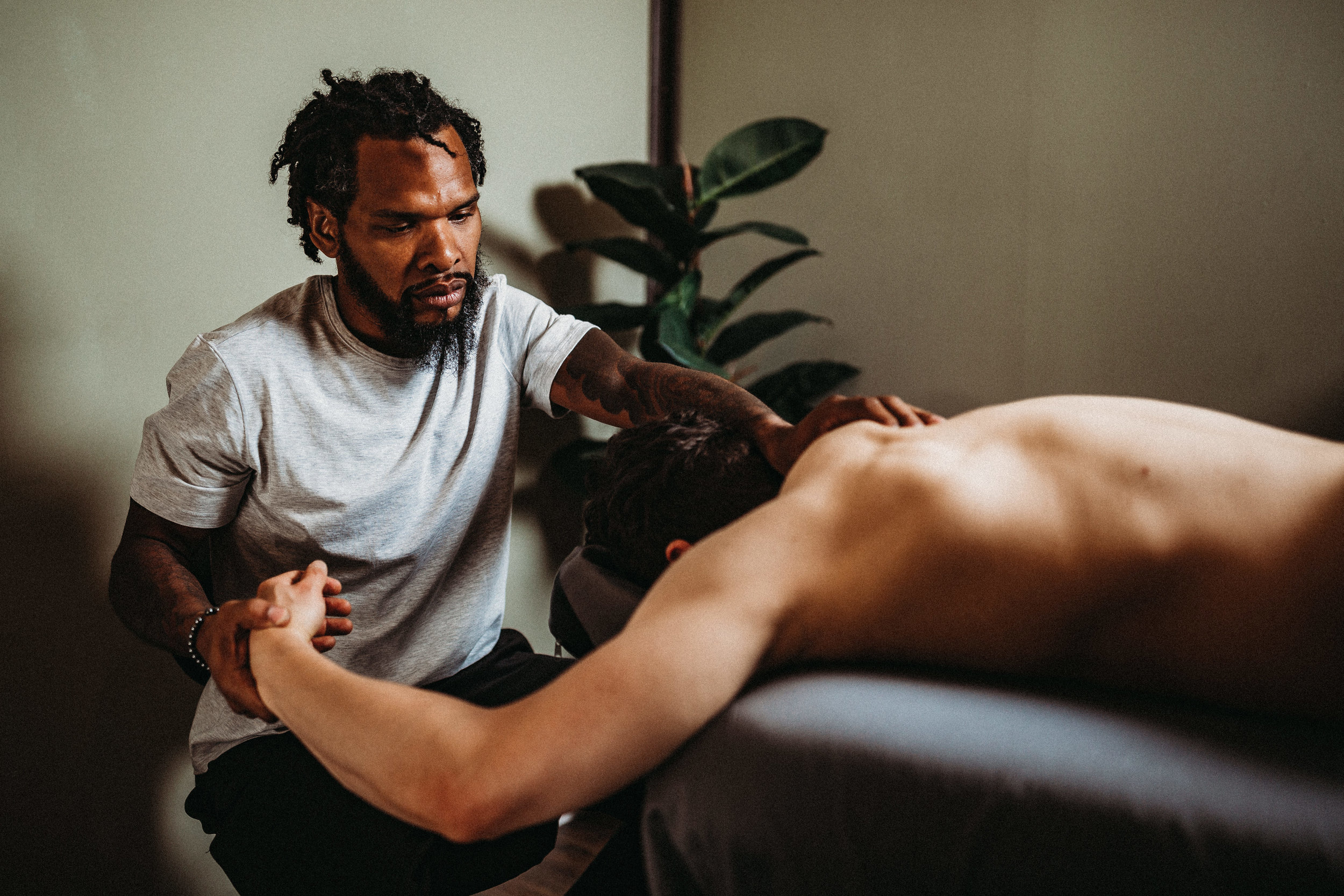 DEEP TISSUE SPORTS MASSAGE -