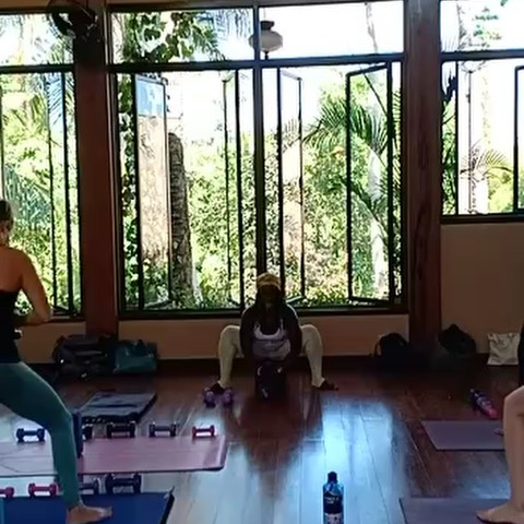 BadAsana Sunday Funday! Thank you to everyone who showed up for today's special #badasanaseries #yogawithfreeweights class at @theyogabarn  I'm deeply grateful to our amazing staff for their endless support. @sidhiv you rock! 👊🏾💪🏾🙌🏾 @sherylsharaswhaty I adore you Sis! 🙏🏾🦋💜🌻 @jkcoup you are a tower of strength, support and love! @meganwelzyoga I'm envisioning you taking this practice to the Bukit! Such a joy to practice next to you yesterday AND the gift of your presence today!  And by no means least, @tymihoward thank you for your insight, kindred spirit and immense love. From your yin yesterday to my yang today, I'm on fyah! #lit #yinyoga #yinyang  There are still a couple more spots left for training 24 to 27 July. You do not want to miss this particular one. Believe me when I say, it will be like no other! See profile link for details.