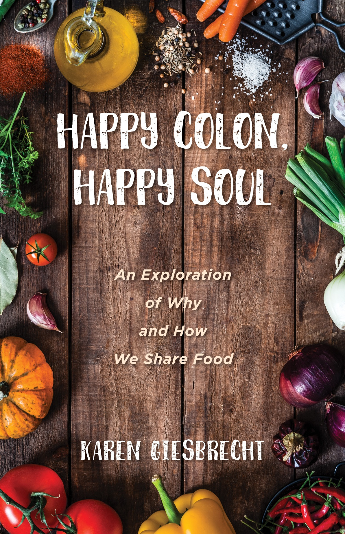 Happy Colon, Happy Soul - This book is an exploration of how we share food with others, particularly our vulnerable neighbours. In these pages, some of Vancouver's more colourful souls will tell us about the costs of poverty and privilege, as well as the long, slow heart shifts we experience on the journey toward healthier eating. Sharing food and making space where those on the margins are welcomed is both delightful and difficult. There is no manual on how to do this. Someone could try to write one, but no two moments are ever the same, and the way each of us prefers to eat is as unique and personal as our signatures.Through these stories, we can hopefully learn to nourish ourselves and our neighbours a little better. Do these pages contain the recipe for a happier colon? And a happier soul? Pick up this book to find out.