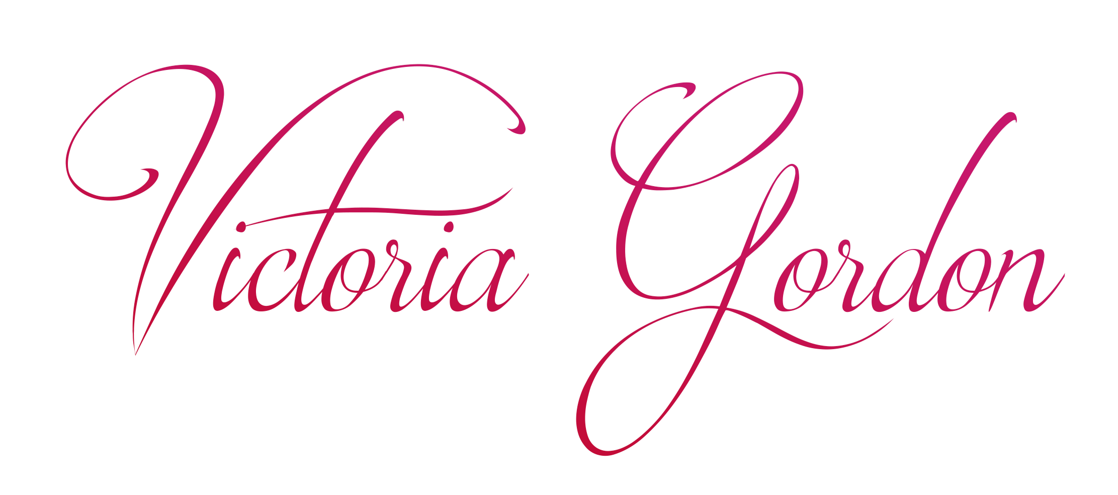 Victoria Gordon Signature