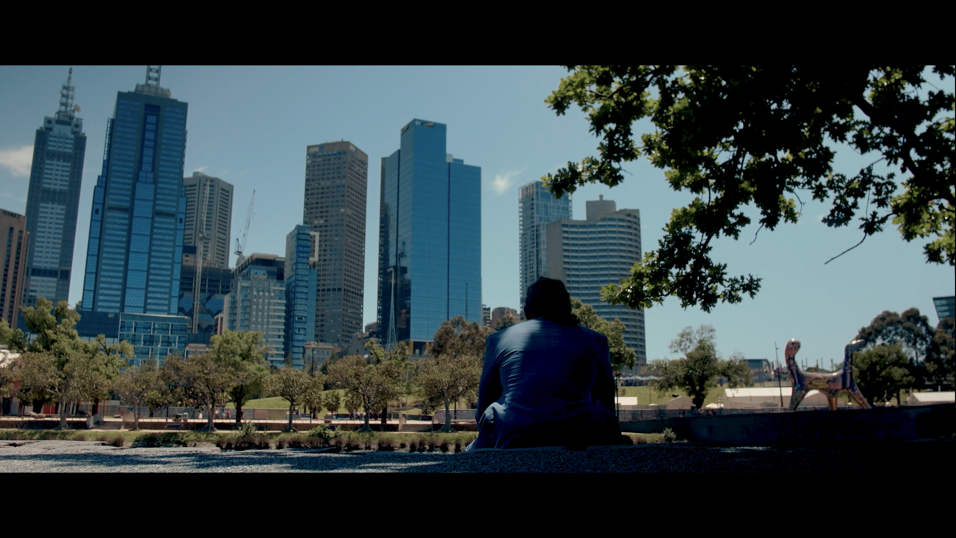 500 days of summer in melbourne - Scene recreation from the movie '500 Days Of Summer'.