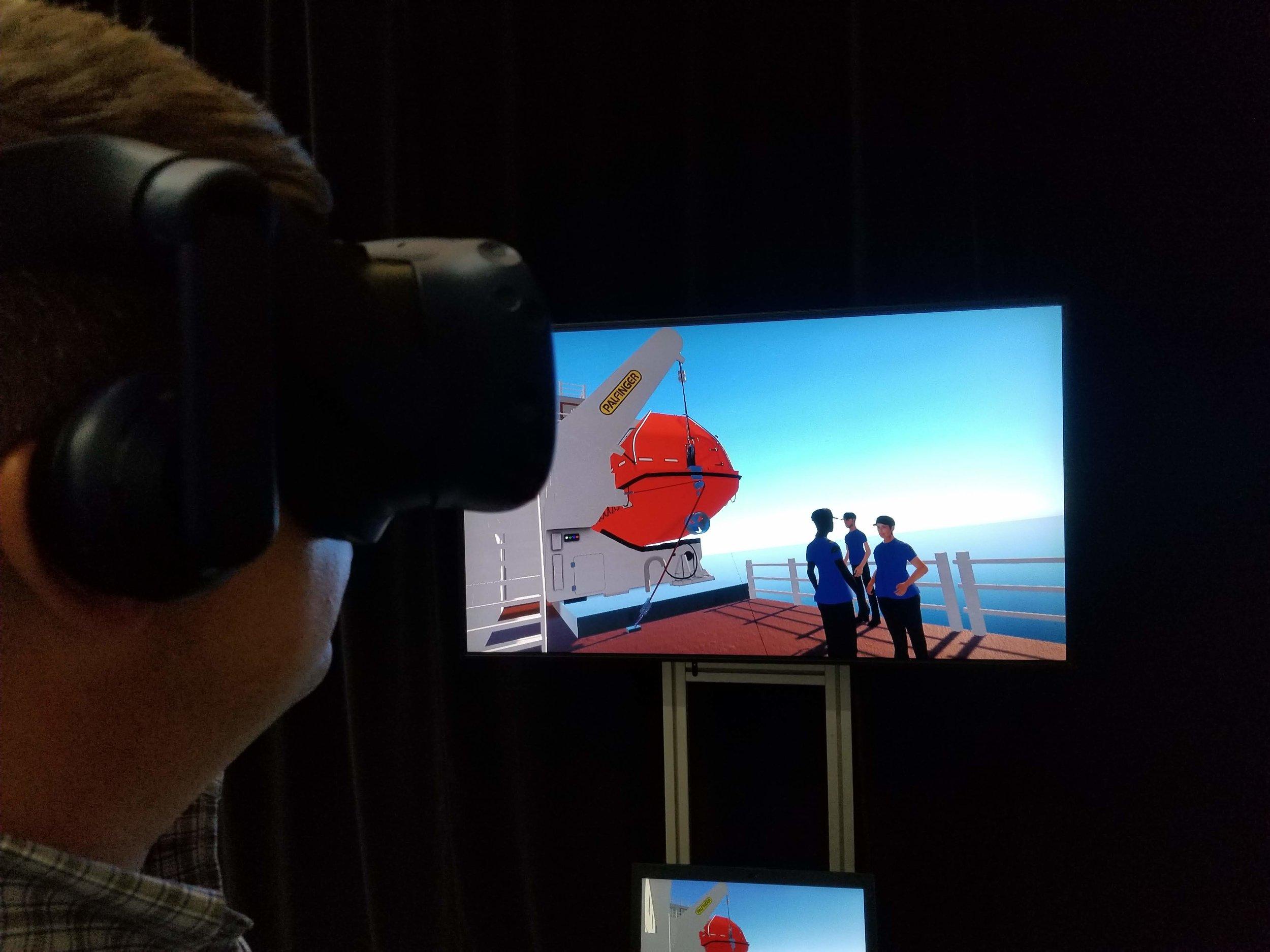 Virtual Reality PreLaunch Inspection