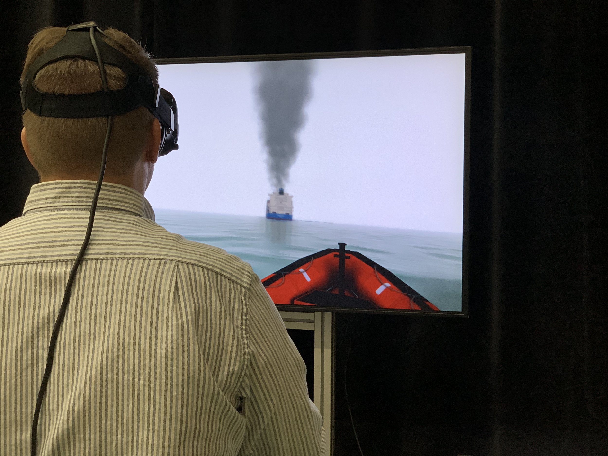 Virtual Reality Fast Rescue Craft
