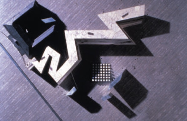 Daniel Libeskind. The Jewish Museum (1989–1996). Extension of the Berlin Museum, Berlin, Germany