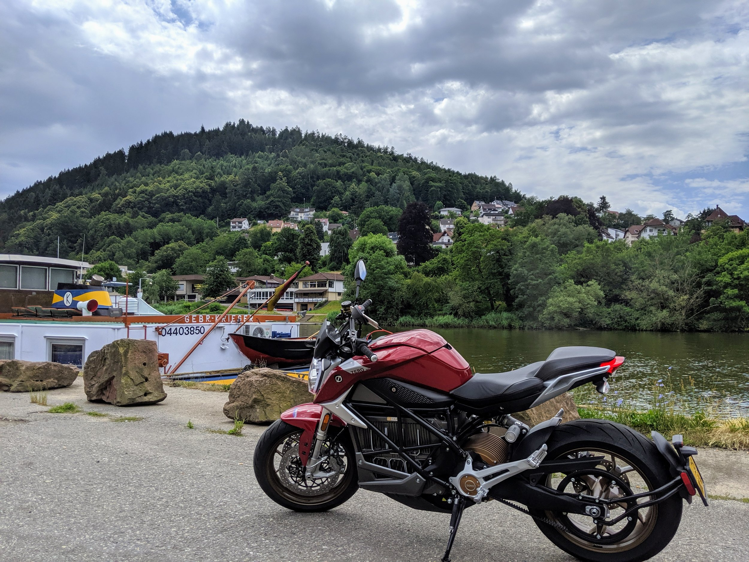 Photo break near Eberbach, Germany.