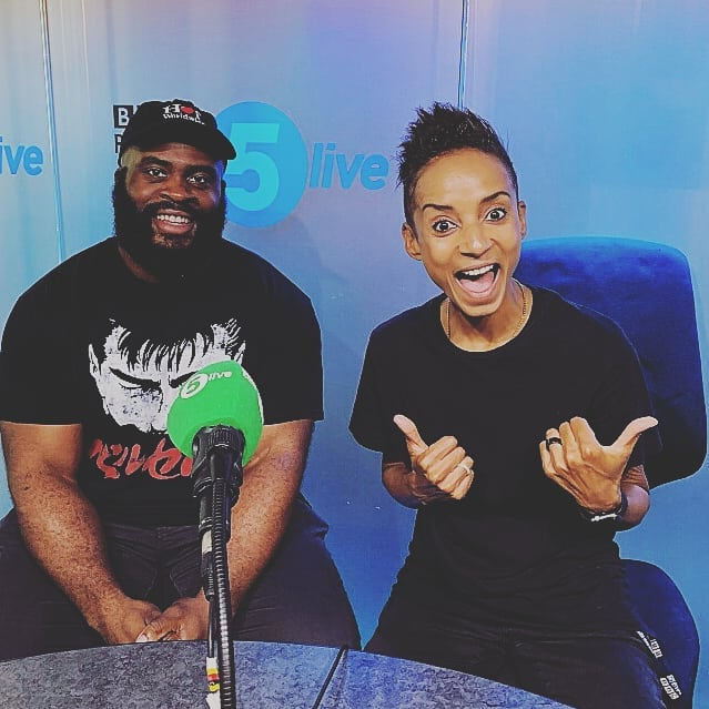 Had the pleasure of appearing on @bbc5live yesterday, chatting #music with @therealnihal & @adeleroberts.  We recommended some amazing tunes. Check it out on BBC iRadio player and BBC Sounds!