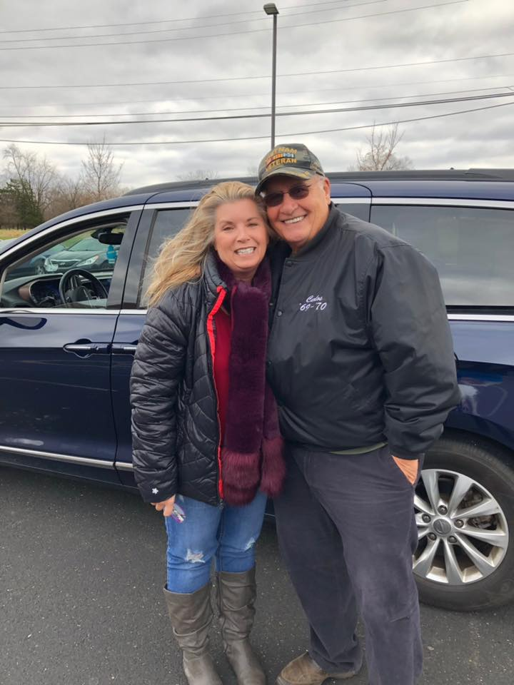 Mr. Carlos Cope (pictured with Tara) is a wonderful friend of BFO. He is always right there with a helping hand and solution for any Veteran. This man gets things done. He is the kindest, most gentle giant. Thank you for your service Sir, and thank you for all you do for our clients!