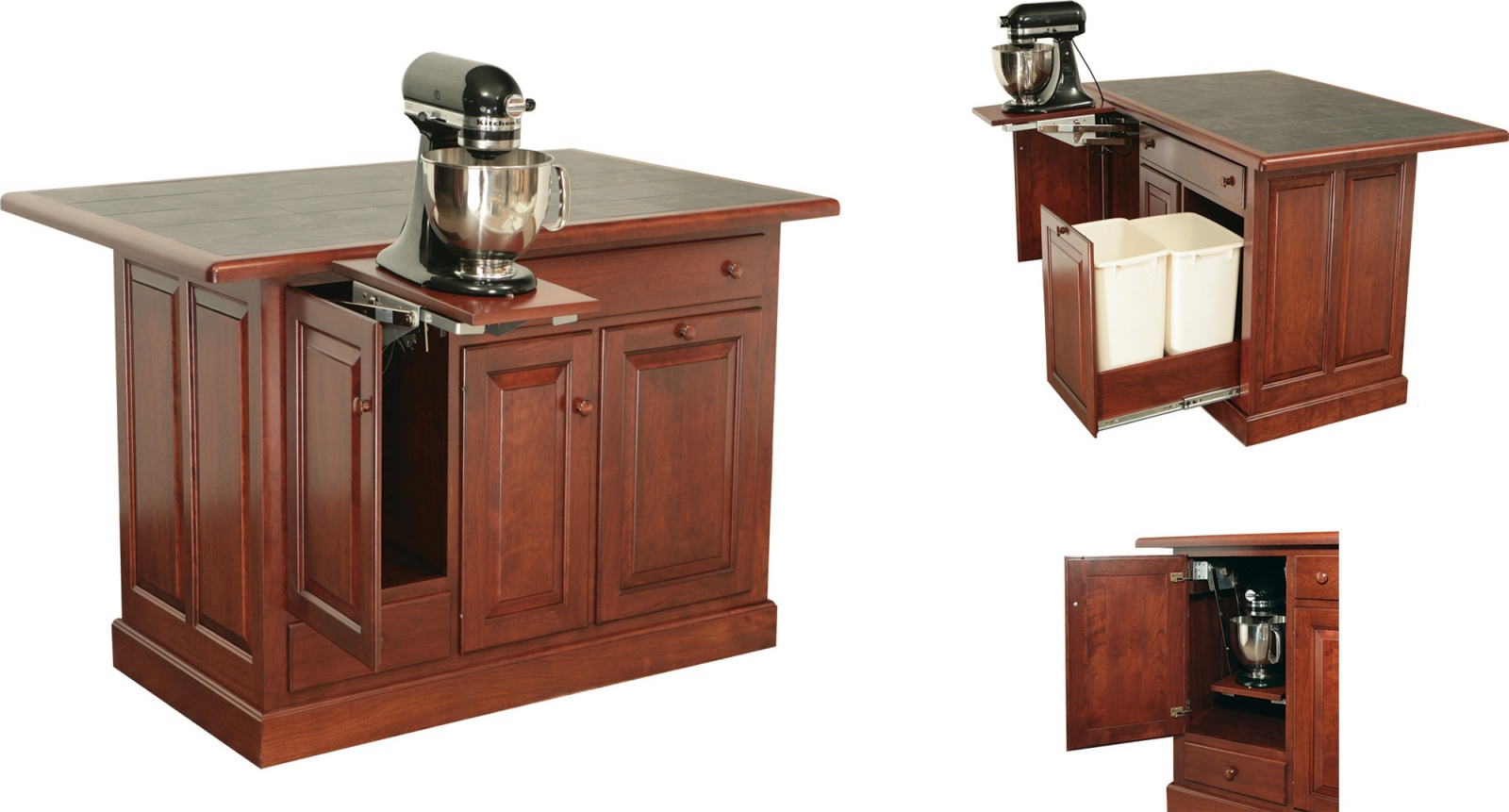 IS-76 Raised Panel with Wastebasket Pullout & Mixerlift.jpg