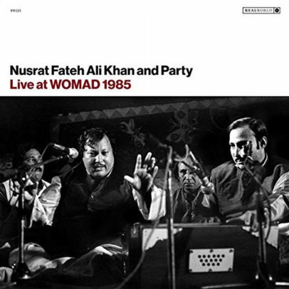 Live At Womad 1985 by Nusrat Fateh Ali Khan