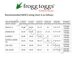 Frogg Toggs ToadSkinz Bib
