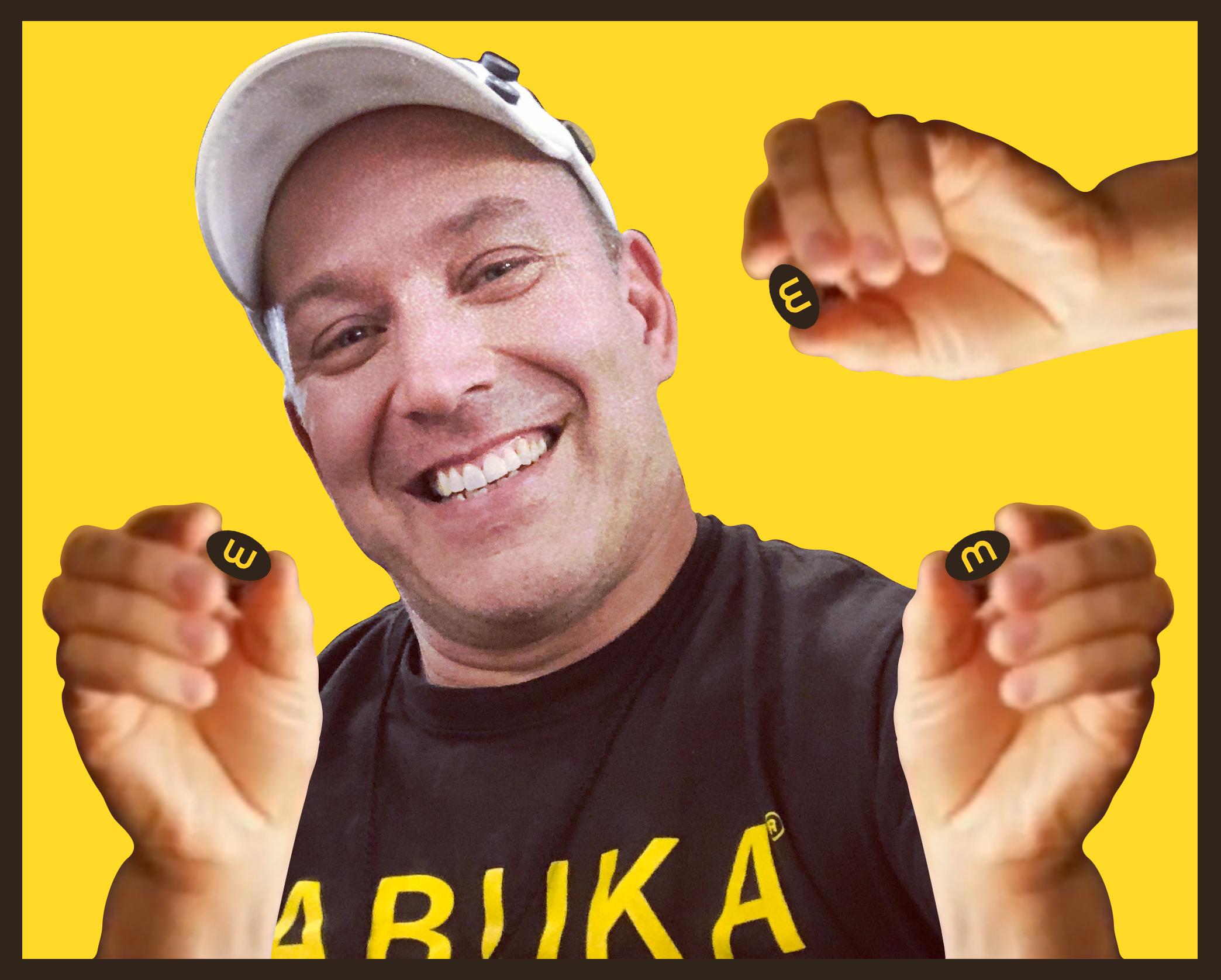 M = W = E          when twisted! - Martin Russocki, Founder & Master Bean Creator, Jabuka Games Inc.