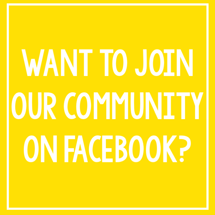 Click the icon above to join our FaceBook Community!