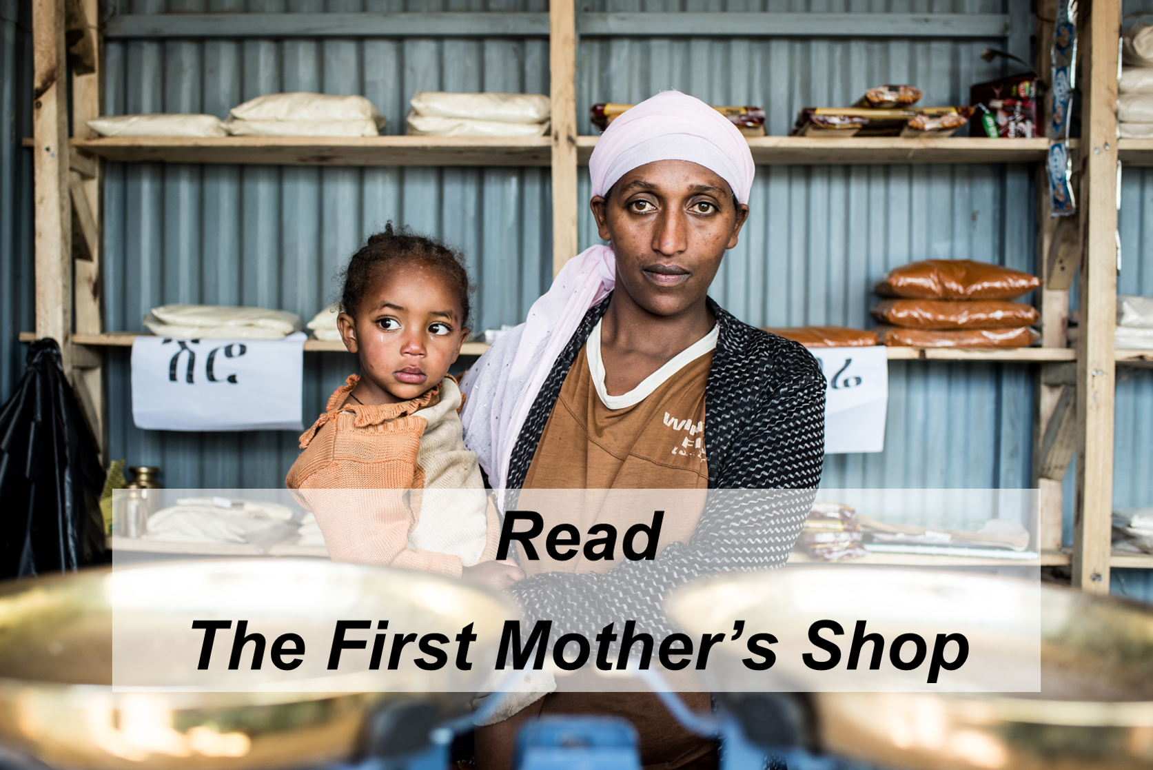 First Mother shop in Ethiopia