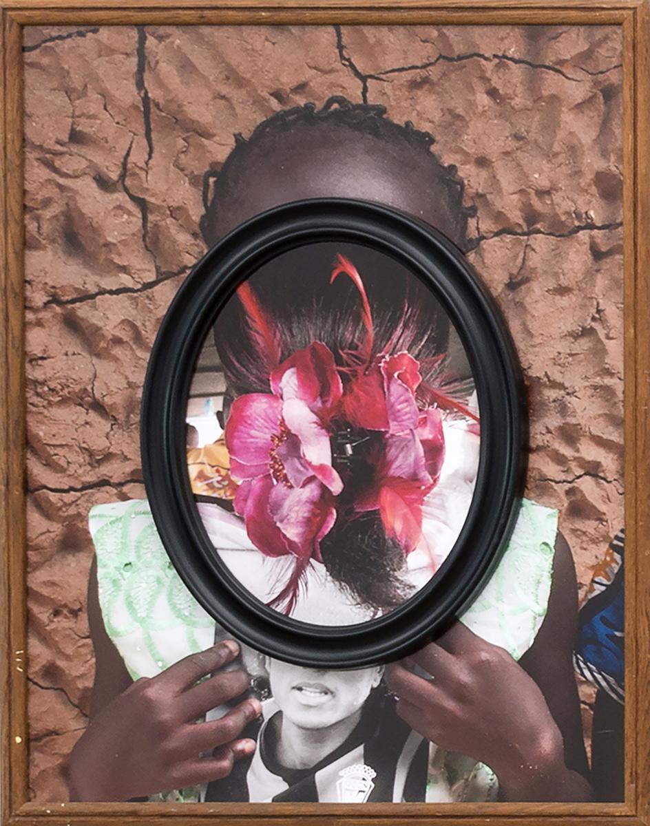 Mirror Mirror,  2014  Archival pigment prints, found antique frames // 29.5 x 23.5 x 2 in