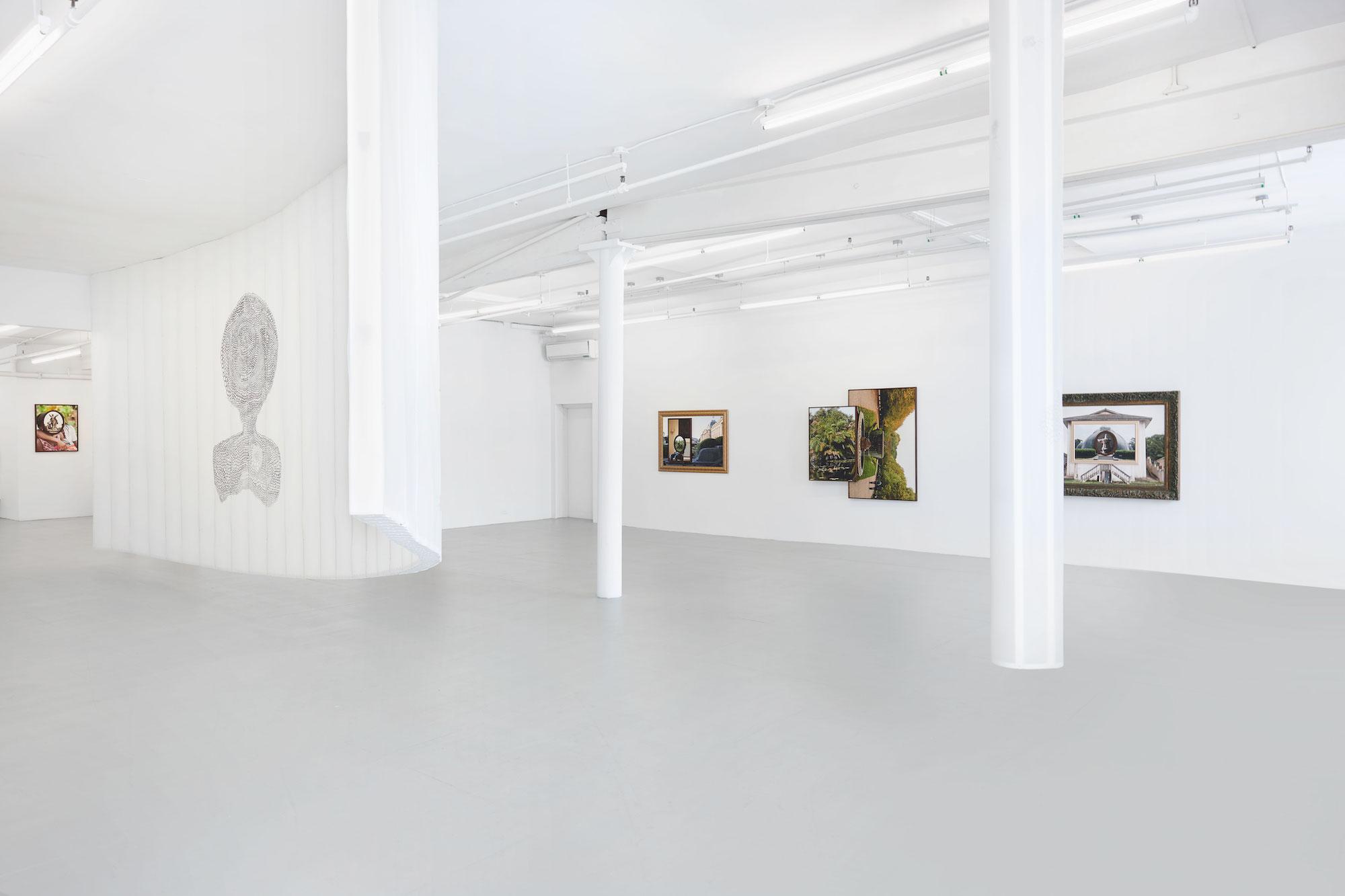 Installation view,  Cartesian Gris Gris,  David Lewis, New York, 2019