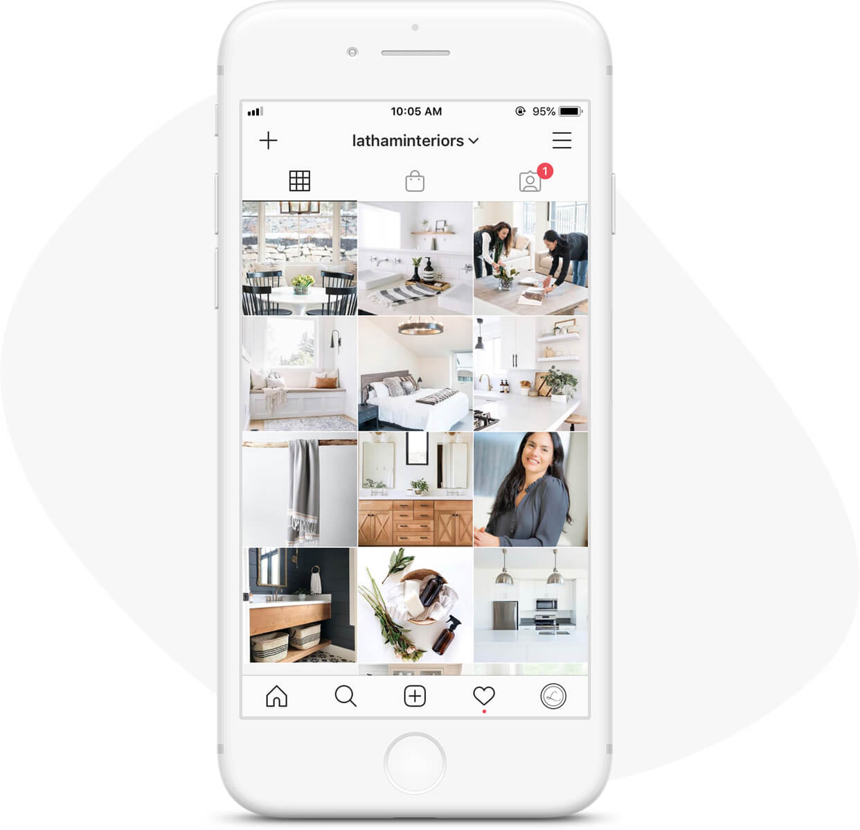 Instagram - Community GrowthWe helped Latham Interiors grow their Instagram followers from 300 in October of 2017 to just over 13,000 by summer of 2019. Posts averaged more than 600 engagements—up from 65.