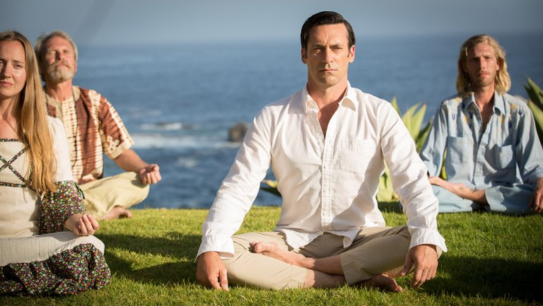 Surprisingly, this is not what I look like while meditating with my  Headspace  app.