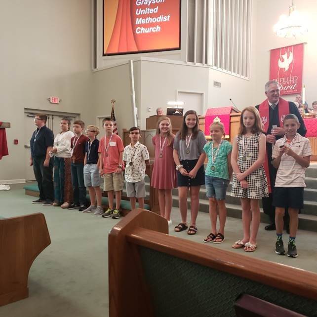 2019 Acolyte Recognition