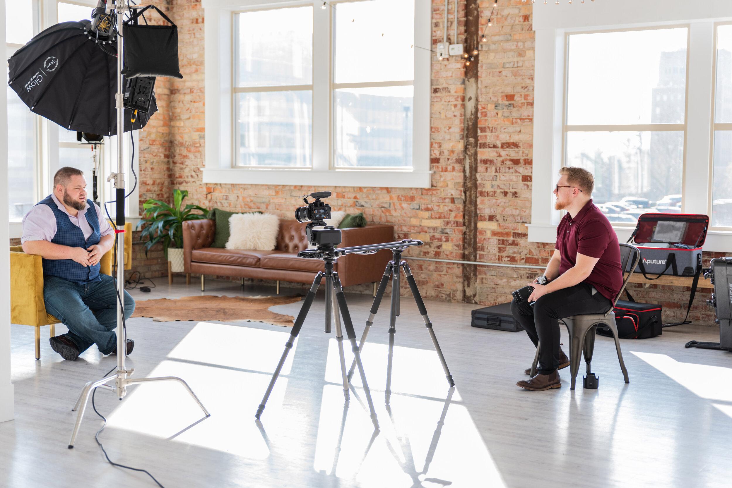 Corperate Video Shoot