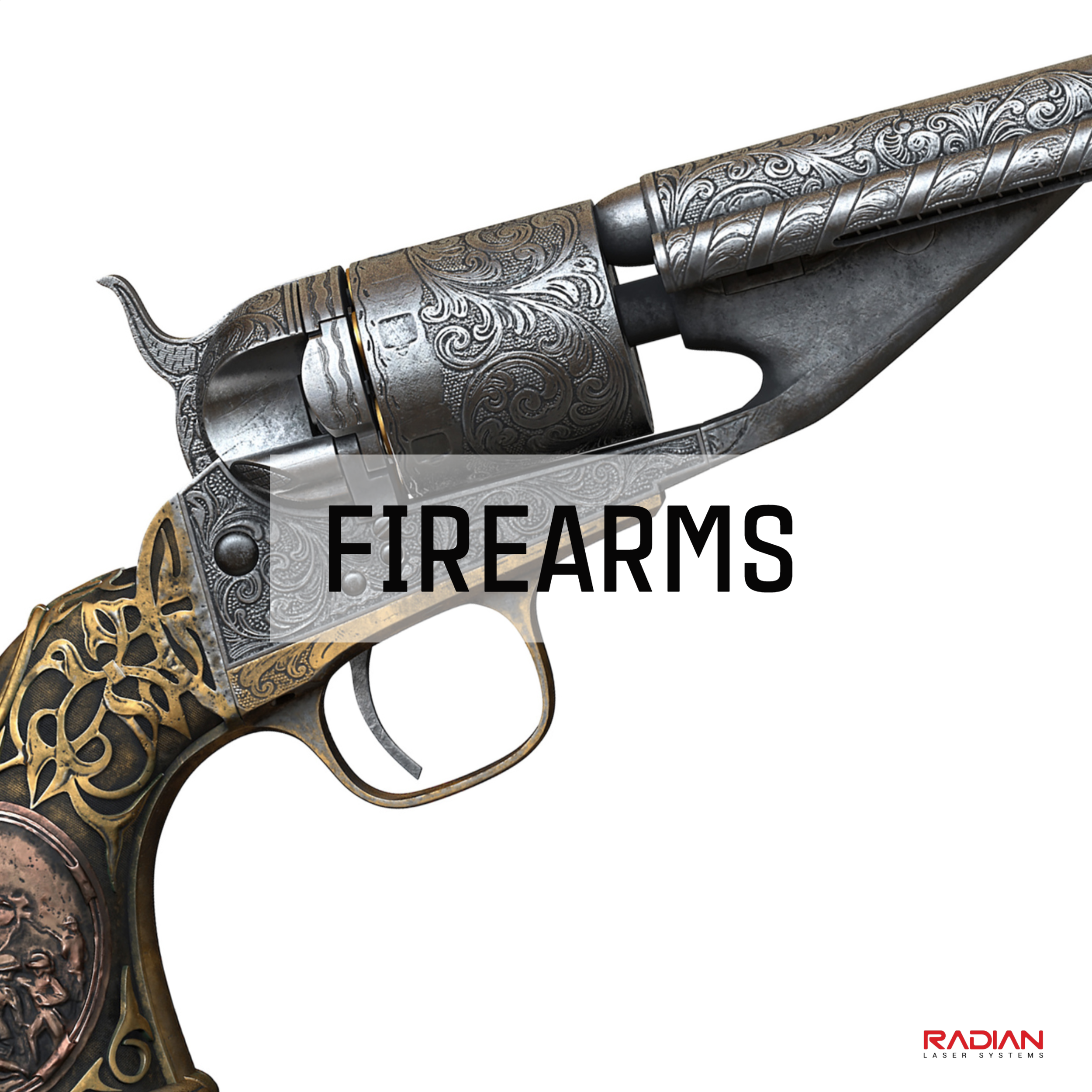 Engraving Firearms with a Laser
