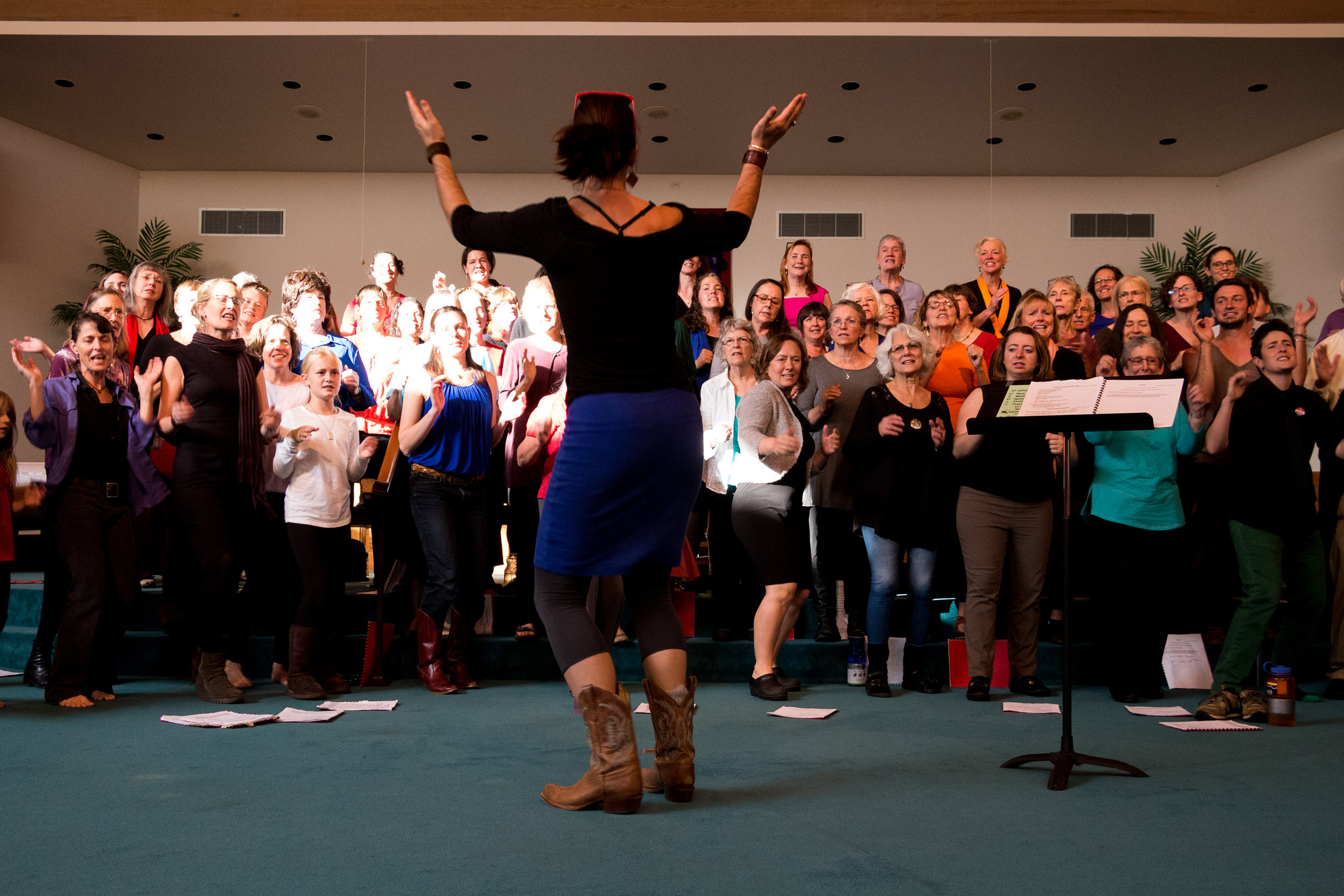 Join WACC! - We welcome new singers to join WACC at the start of each new season. Pre-registration is required.No auditions are held. If you want to sing, we want you to sing with us!We charge on a sliding scale of $120-$350 for the season. Don't let money stop you from joining. We have scholarship, barter and work-trade available.Registration for our Fall season runs August 9th - Sep 1st and is open to new and returning singers.Our Fall 2019 Season will begin Sep. 5th.