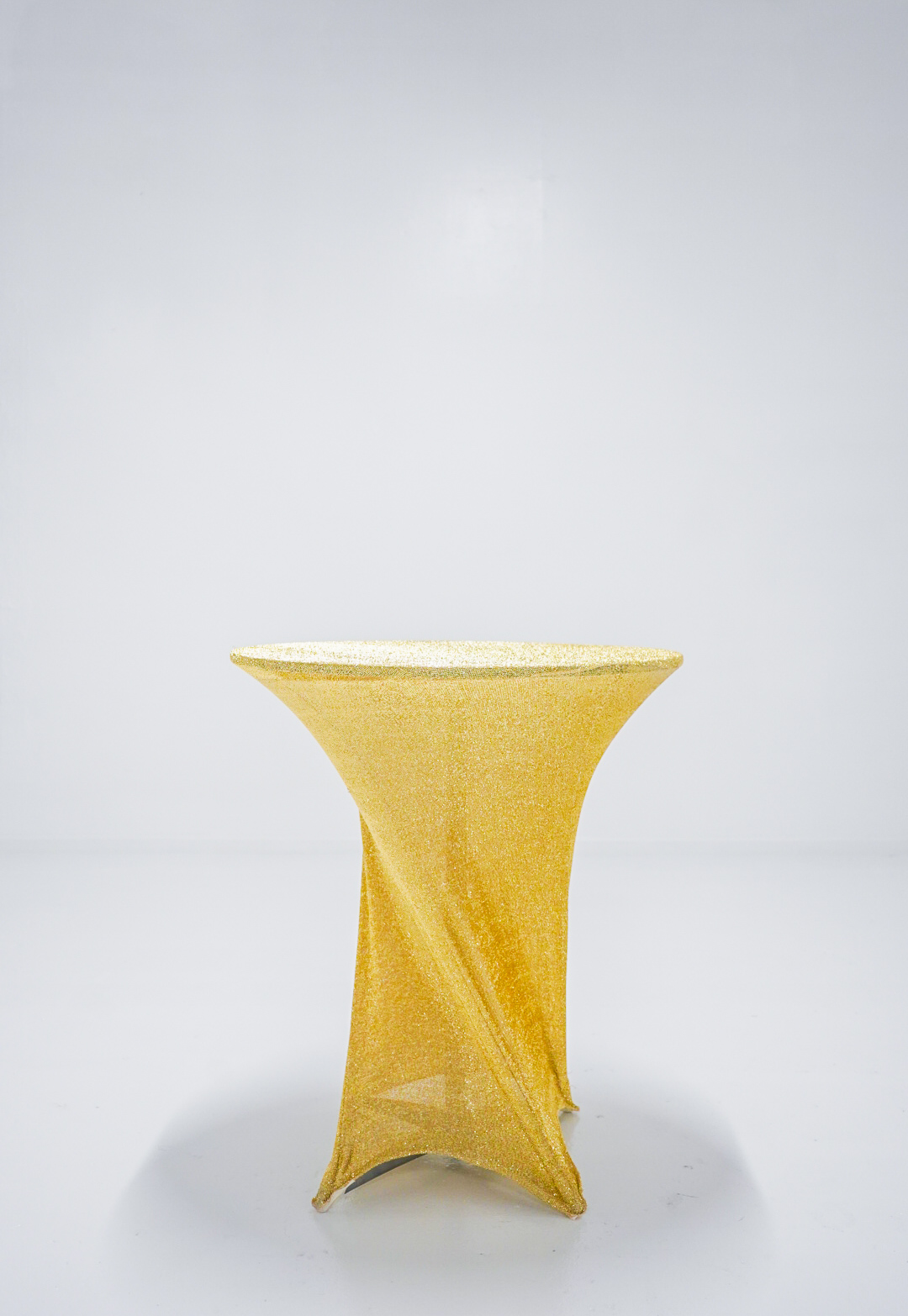 Cocktail Table with gold cover - $15.00