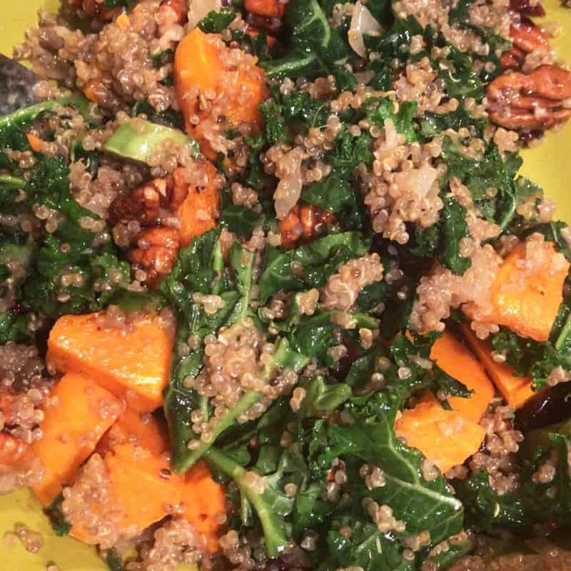 Quinoa,-Butternut-Squash-And-Kale-Salad-with-pecans