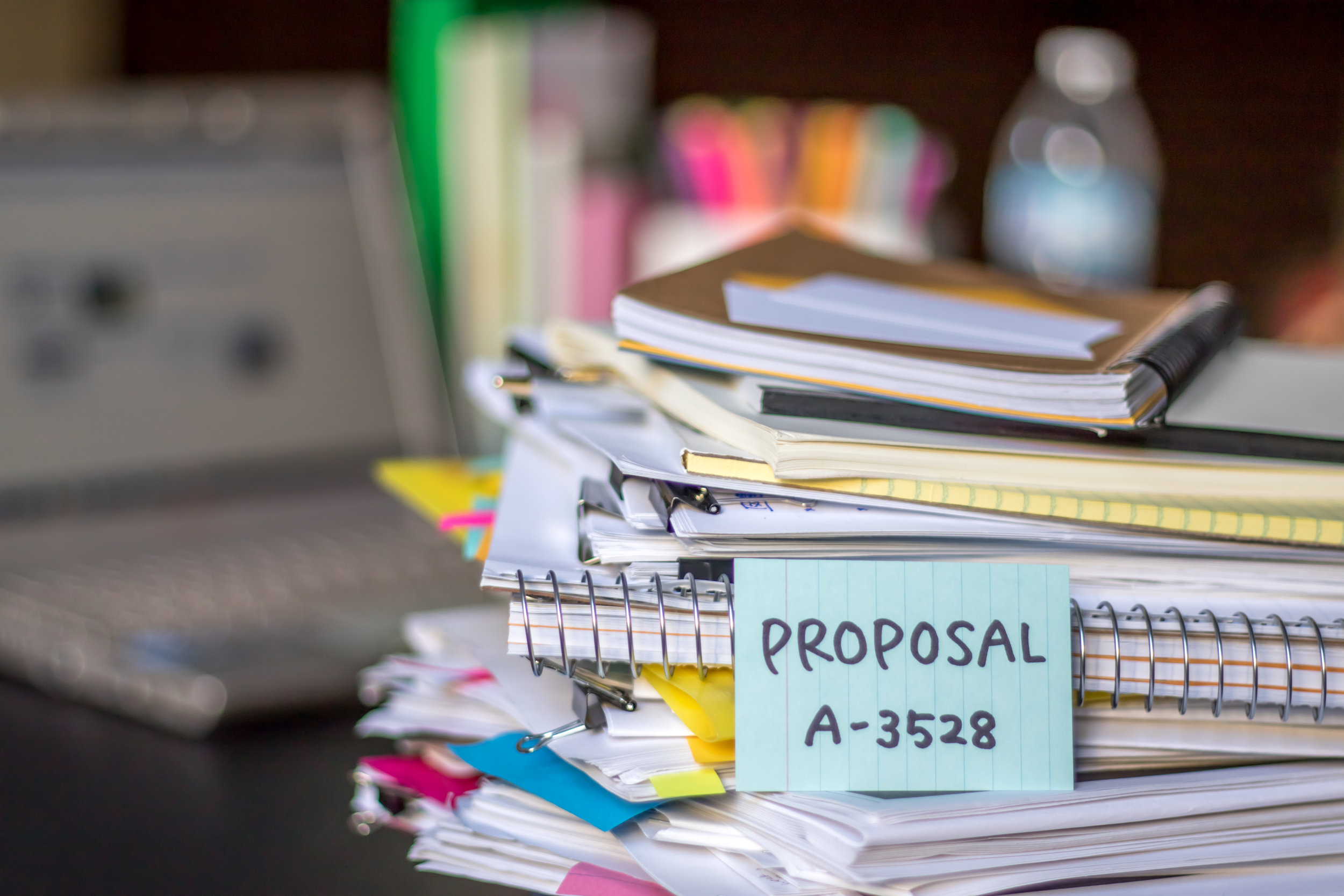 Proposal Management - Anthology offers comprehensive proposal management services including planning, team leadership, strategy, writing, layout and design, quality control, production, and presentation support.