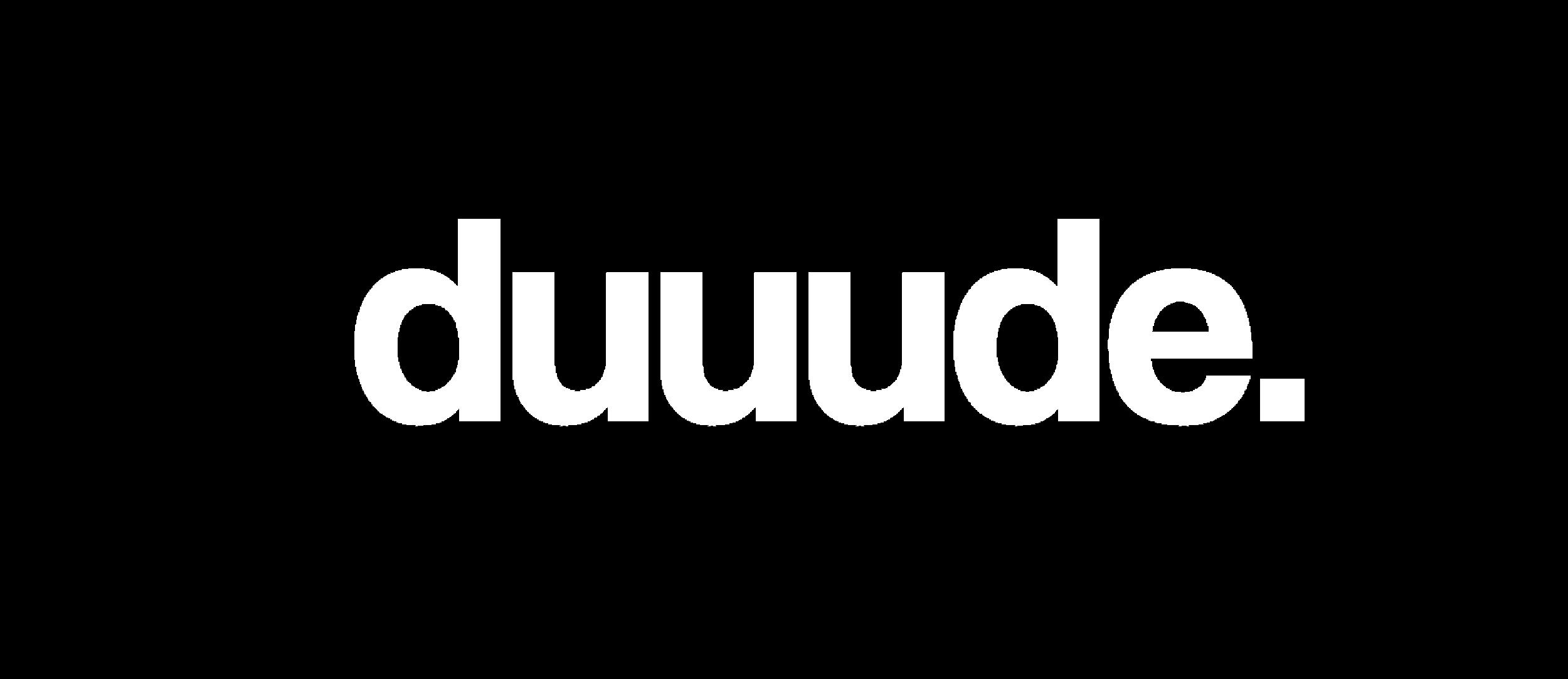 duuude logo