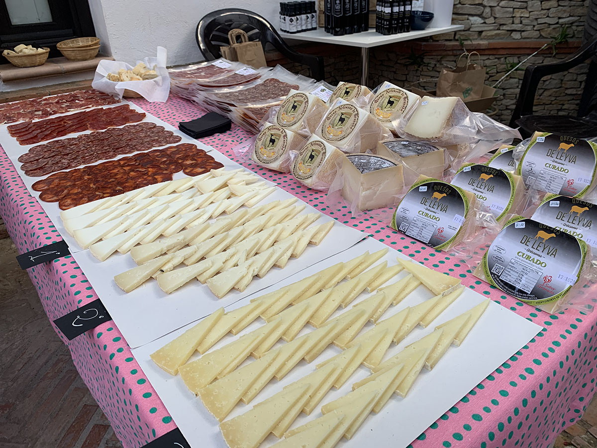 wine and cheese tasting -