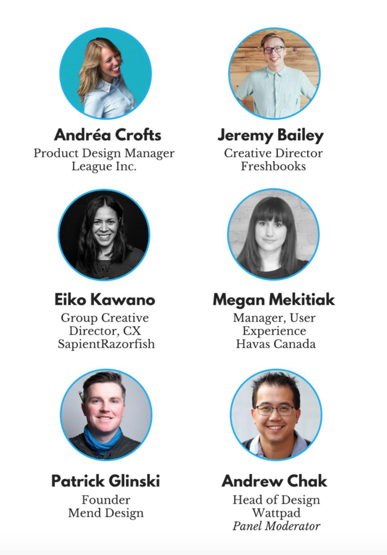 Ari Agency UX Mixer Panelists