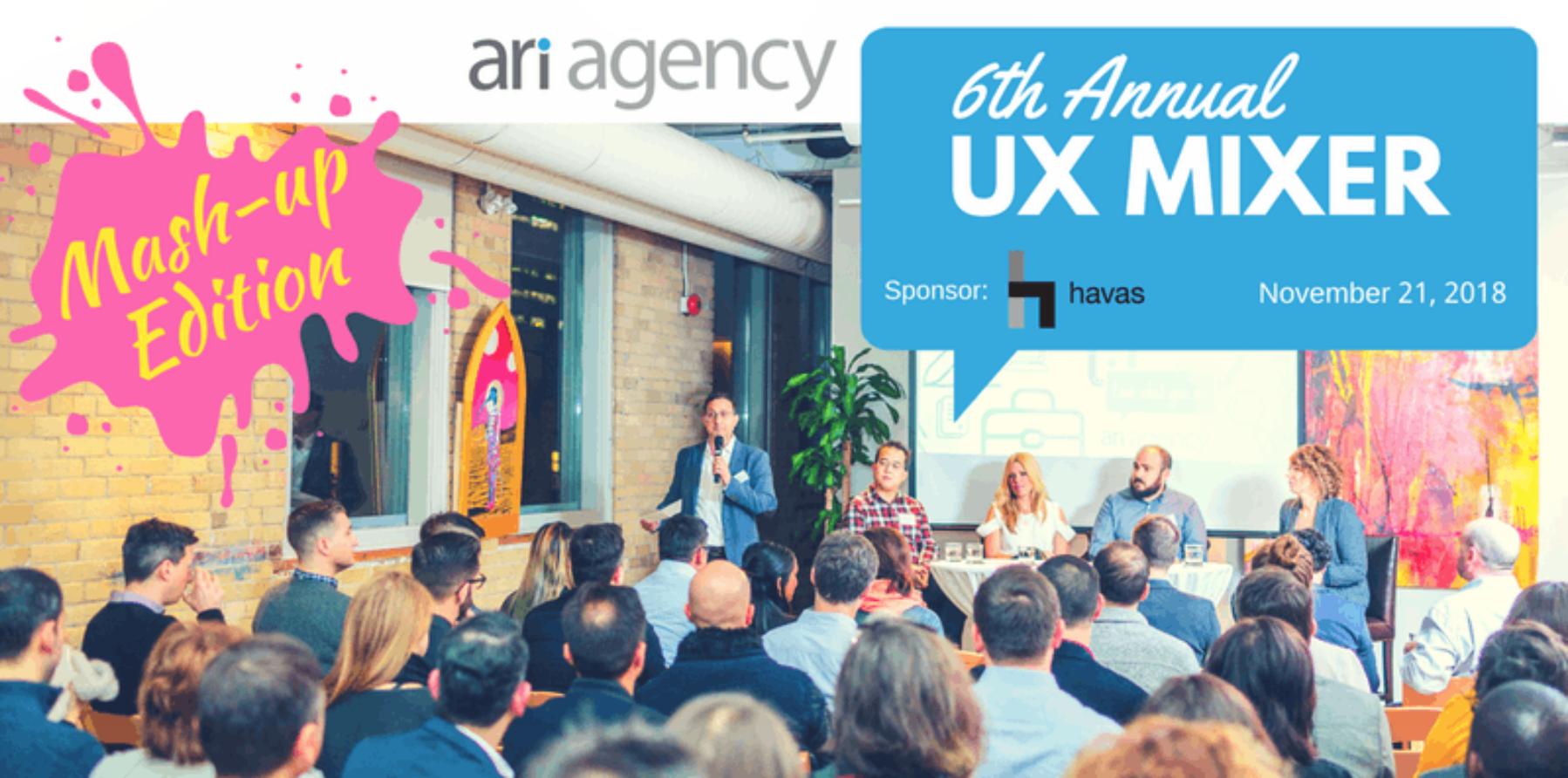Ari Agency's 6th Annual UX Mixer
