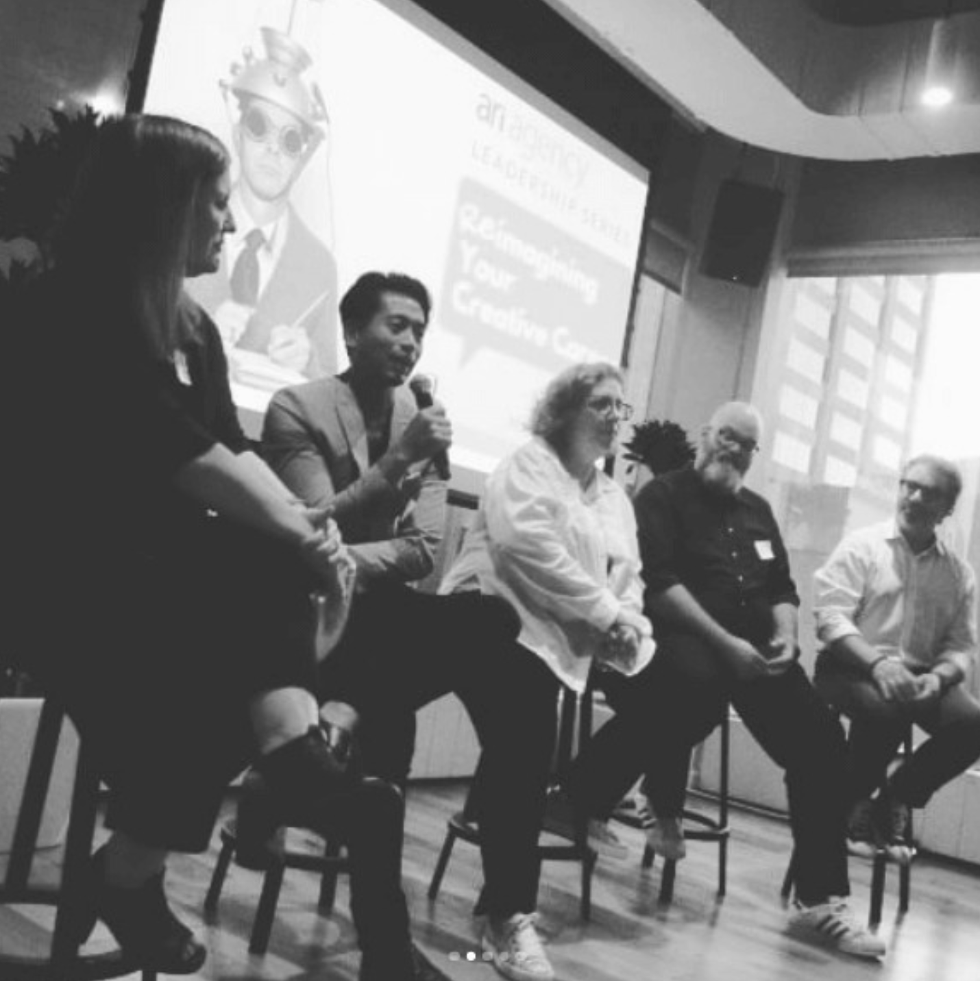 (From Left) Kaye Puhlmann, Israel Diaz, Janice Diner, Dré Labre, Jon Finkelstein