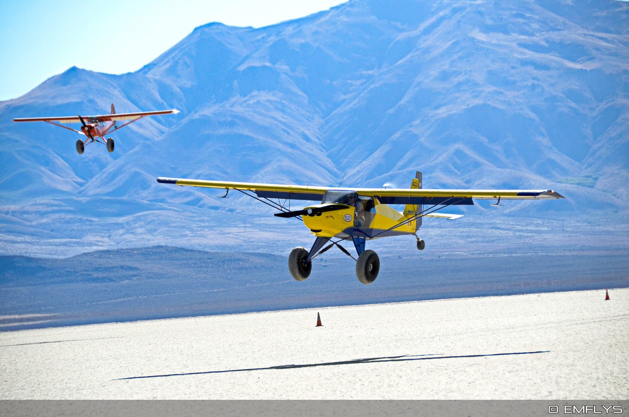 Home of STOL Drag Racing - At Dead Cow Lakebed