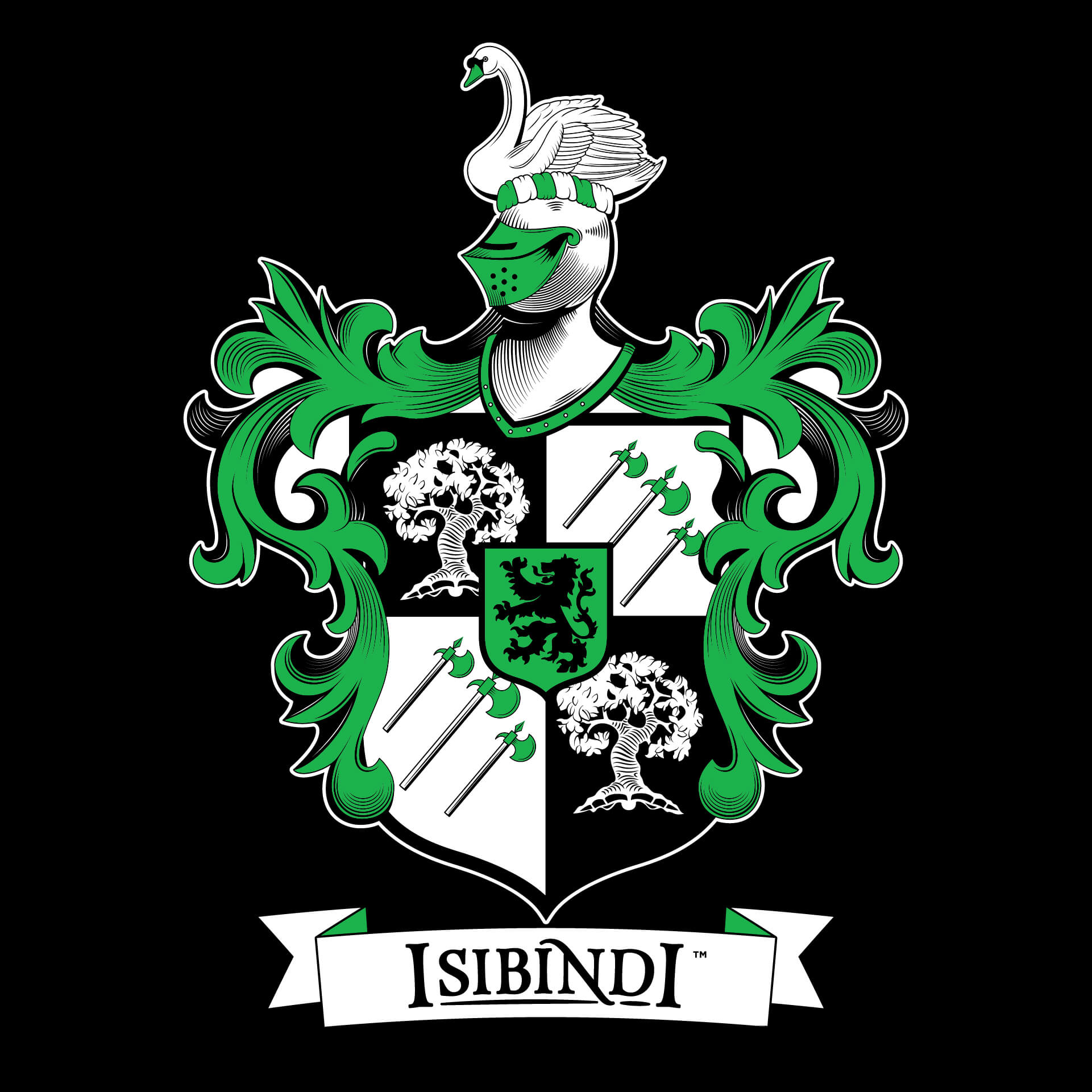 Isibindi's Crest - Full Color (for White/Light backgrounds).↓ Download EPS | ↓ Download PNG2-Color (for White/Light backgrounds).↓ Download EPS | ↓ Download PNG—Full Color (for Black/Dark backgrounds).↓ Download EPS | ↓ Download PNG2-Color (for Black/Dark backgrounds).↓ Download EPS | ↓ Download PNG