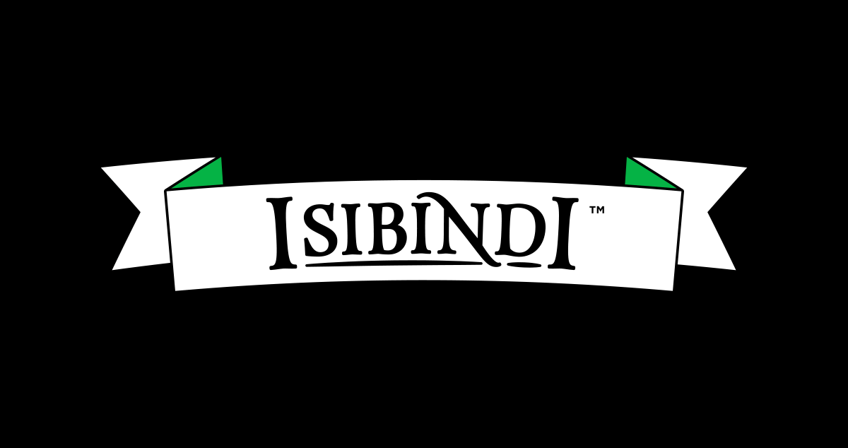 Isibindi's Scroll - Comes in white or black.↓ Download EPS | ↓ Download PNG