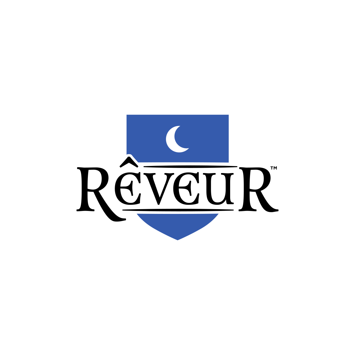 Secondary Logo - For limited color use, low detail printing, or small placement. Comes in blue with black or white text.↓ Download EPS   ↓ Download PNG