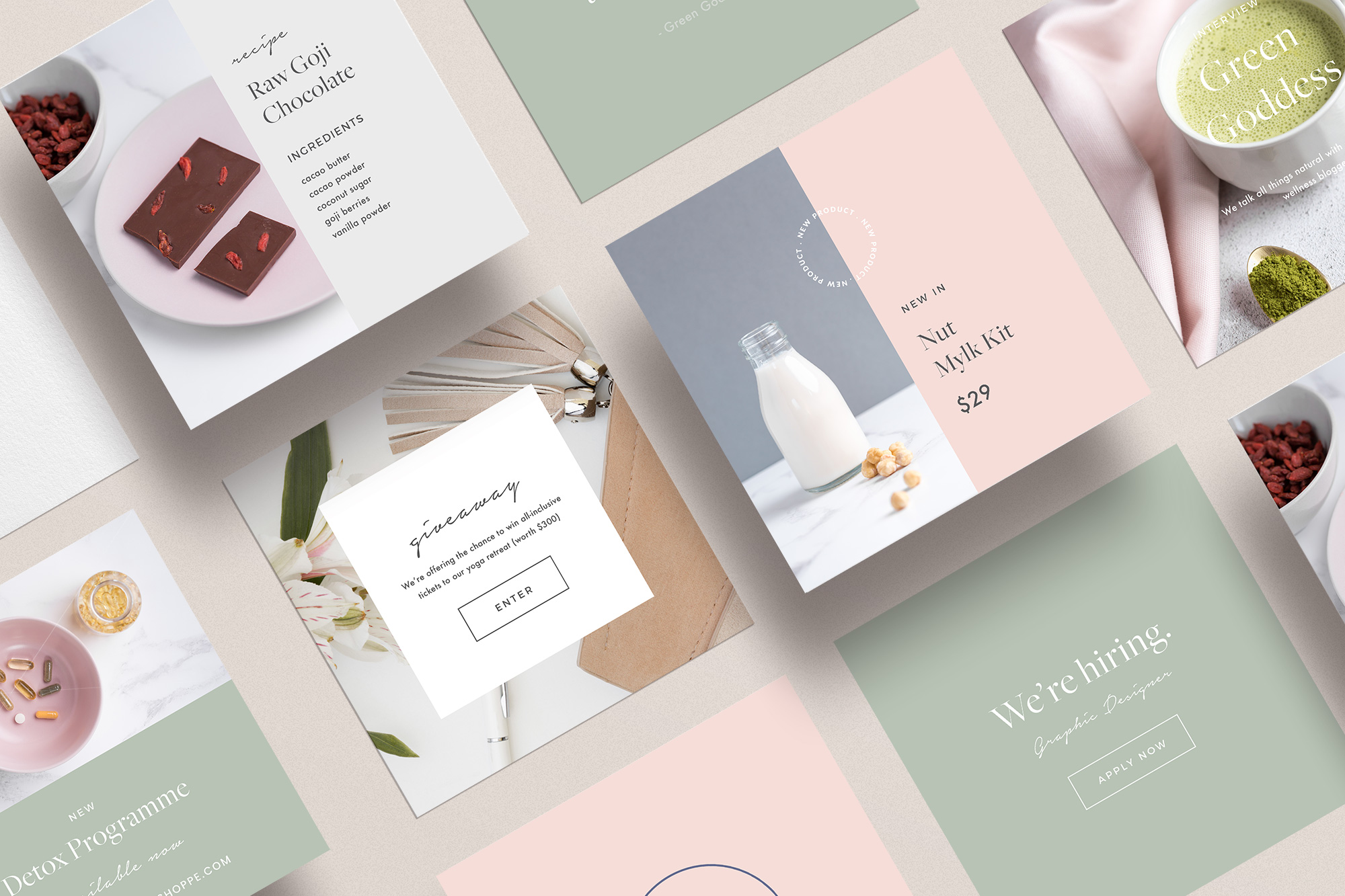 Bonus: Social Media Templates - If you schedule your build before October 1st, 2019, you'll receive a set of 15 branded social media templates that compliment your design theme as our gift to you.