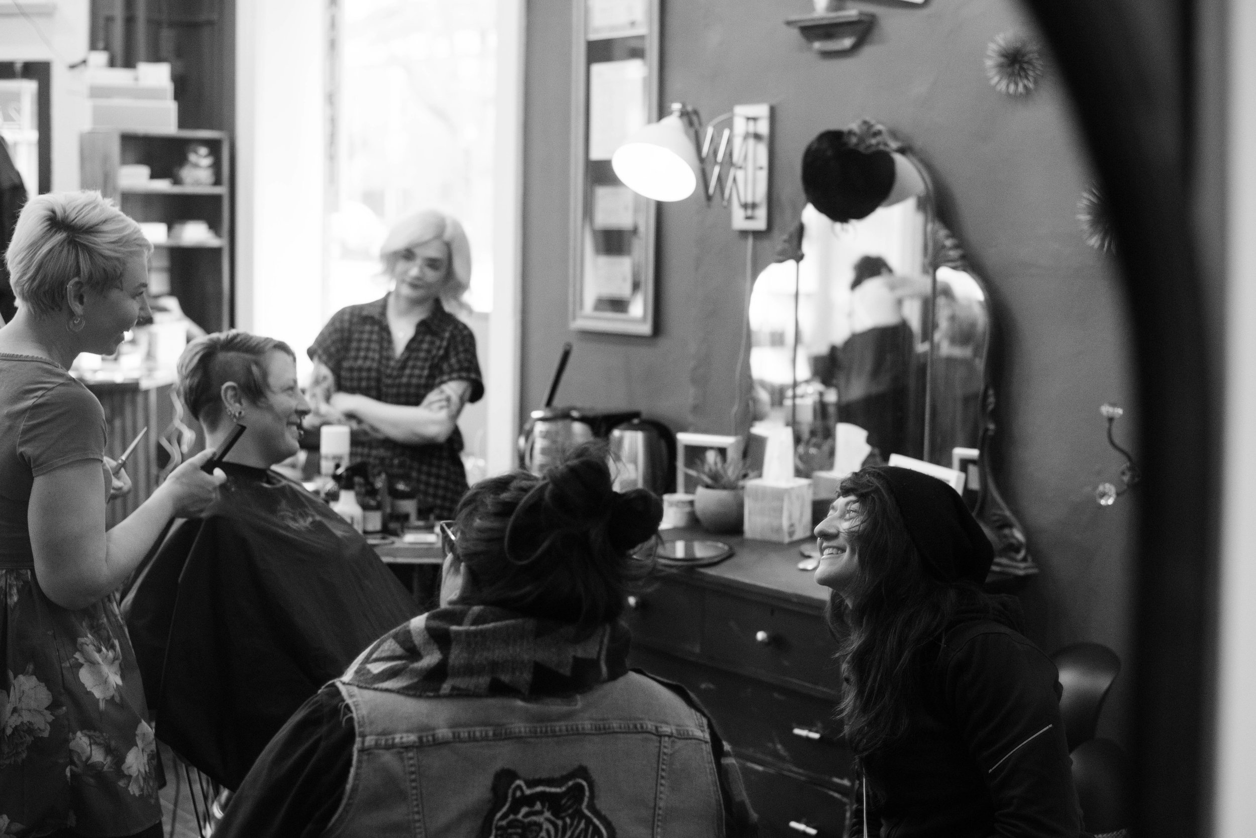 OUR ATWOOD beauty shop is for everyone! - WE OFFER EXTENDED SERVICES INCLUDING HAIR COLOR, BRIDAL STYLING, MAKE-UP, NAILS, AND FACIALS.Plan ahead and book for all your beauty needs.